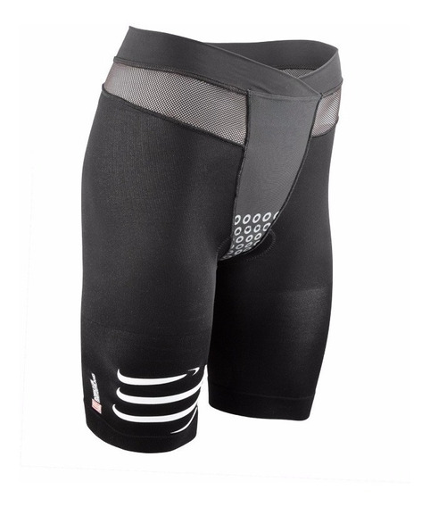 Calza Compressport Triathlon Tr3 Brutal Short V2 Hombre