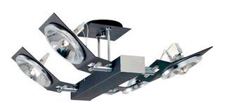 Plafon 4 Luces Lampara Ar111 Apto Led Moderno Envio Gratis