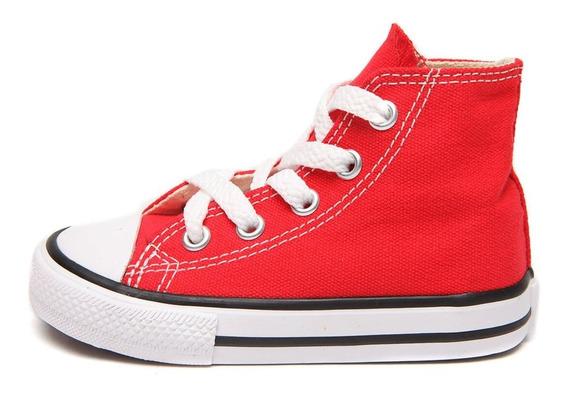 Tênis Infantil Converse All Star Chuck Taylor Kids Hi - Verm
