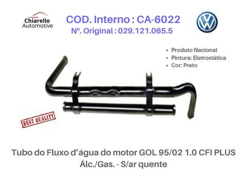 Tubo Dágua  Gol 95/02 1.0 Cfi Plus Alc./gas. Sem Ar Quente
