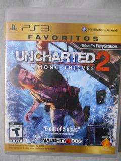 Uncharted 2 Among Thieves Juegazo 5 De 5 Estrellas Mandos