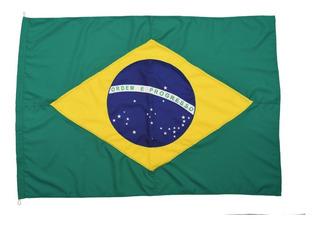 Bandeira Oficial Do Brasil E De São Paulo Tam 135x193cm