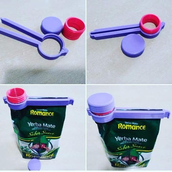 Clip Para Bolsas Con Tapa X 10 Unidades