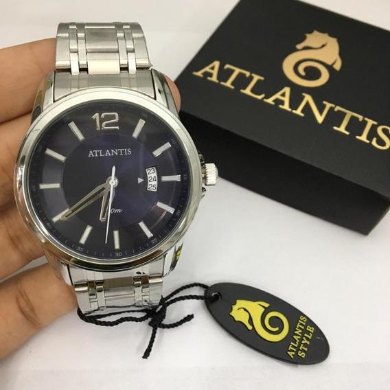 Relógio Masculino Atlantis Original C/garantia Aprova D