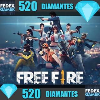 520 Diamantes Free Fire - Entrega Por Id - Fedexgamer