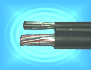 Cable Telefonico Con Guaya Aereo 20 Pares Elecon 50 Mts.
