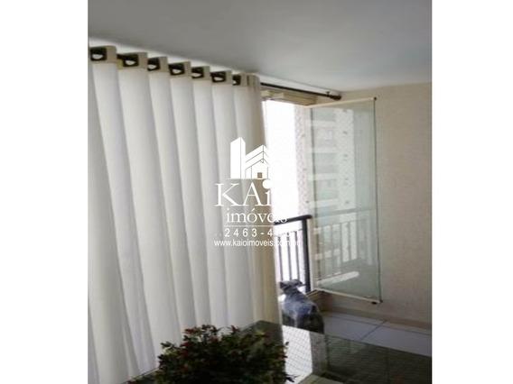 Apartamento De 83m² 3 Dormitórios Churrasqueira 2 Vagas