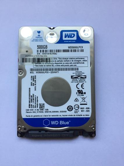Hd Notebook Wd 500gb 2,5 Sata 6.0gb/s Wd5000lpcx 16mb 5400
