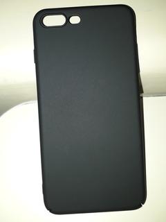 Capa Protetora iPhone 7 Plus E 8 Plus Cor Preta