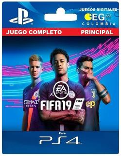 Juego Digital Fifa 19 Champions Edition Ps4 Primario Oferta