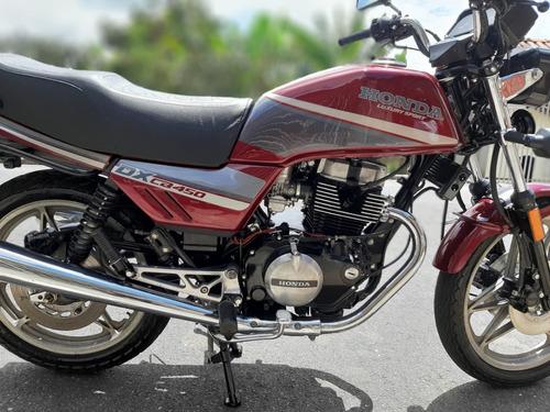 Honda Cb 450 Dx 1990
