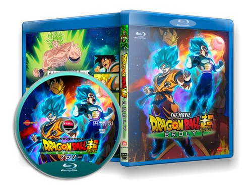 Dragon Ball Super: Broly - Filme Completo Dublado Em Blu-ray