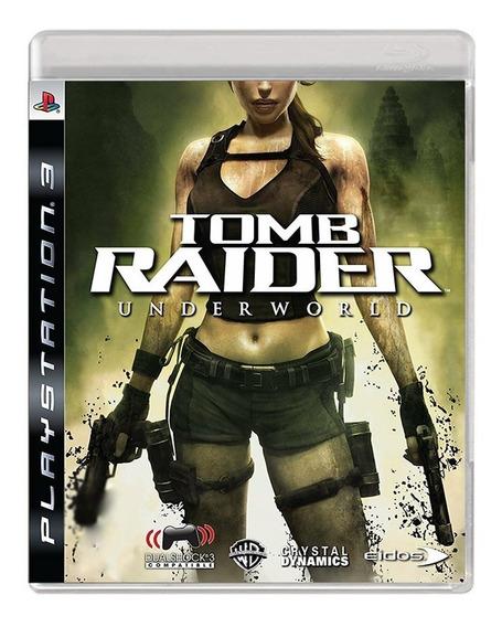 Jogo Tomb Raider Underworld - Ps3 - Original Fisica