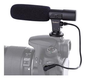 Microfone Direcional Profissional P/ Câmeras Dslr Canon/niko