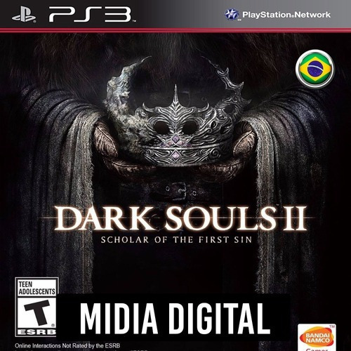 Dark Souls 2 Scholar Of The First Sin - Ps3 Psn*