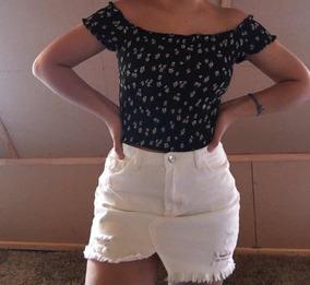 Falda Jeans Y Crop