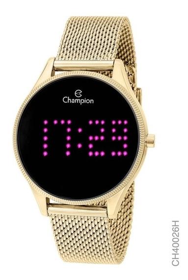 Relógio Champion Digital Led Feminino Ch40026h