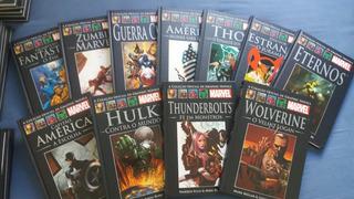 Coleção Graphic Novels Azul Marvel Incompleta