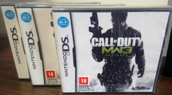 Call Of Duty Modern Warfare 3 Nintendo Ds Novo Lacrado