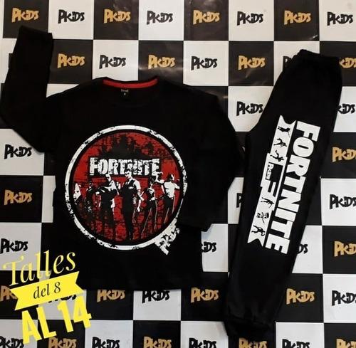 Conjunto Pijama Fortnite Espias