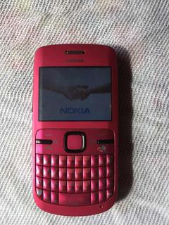 Celular Nokia Original Modelo C3-00 Teclado Qwerty Sinal Top