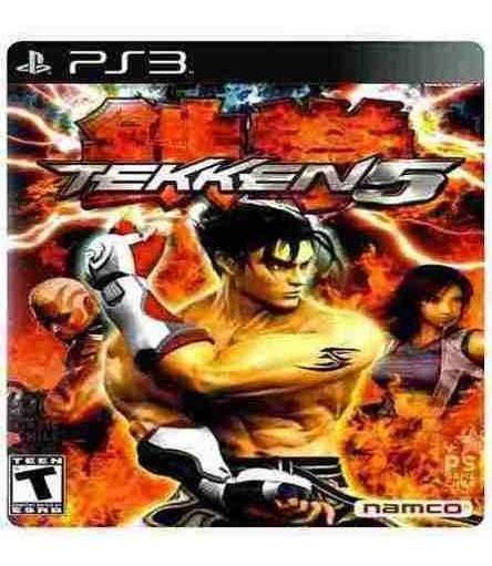Tekken 5 Dark Resurrection - Jogos Ps3 Playstation 3