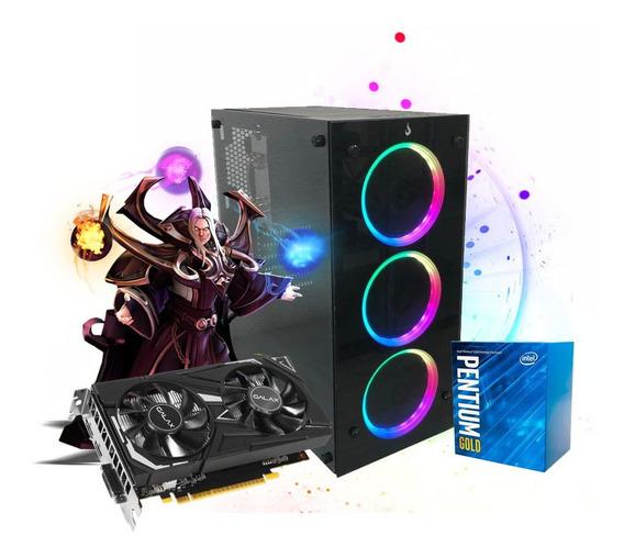 Pc Gamer Megatumi Glass 06 Intel G5400, 2x4gb Hd 500gb Gtx 1