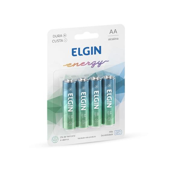 Pilha Alcalina Aa C/4 Elgin