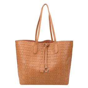 Bolsa Colcci Tote Shopper Feminina Caramelo Original