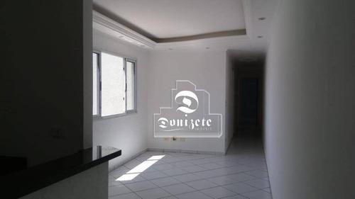 Apartamento À Venda, 90 M² Por R$ 450.000,00 - Vila Curuçá - Santo André/sp - Ap15617