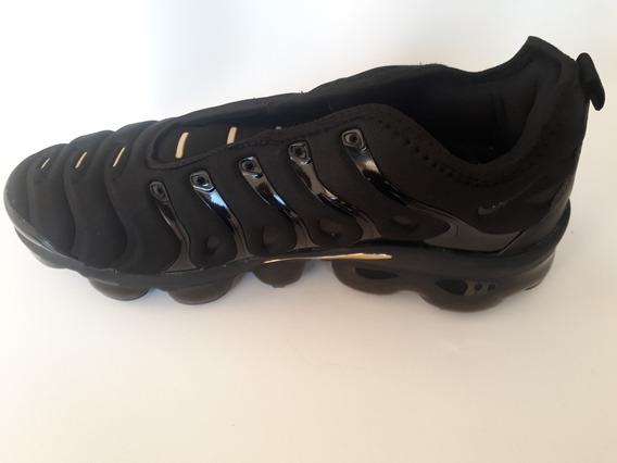 Nike Air Vapormax Plus Preto Ouro 40 Importado