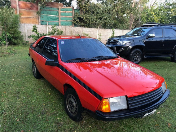 Renault Cupe Fuego Gtx 85, Gas, Nafta, Titular