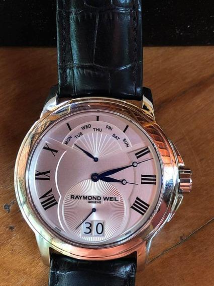 Relógio Masculino Suíço Raymond Weil Tradition 9577 Legítimo