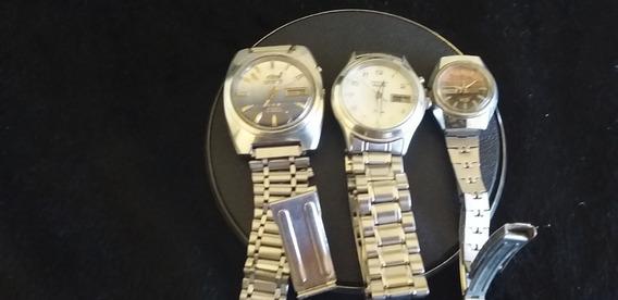 Lote De 3 Relógios De Pulso 2 Masculino Orient 1 Feminino