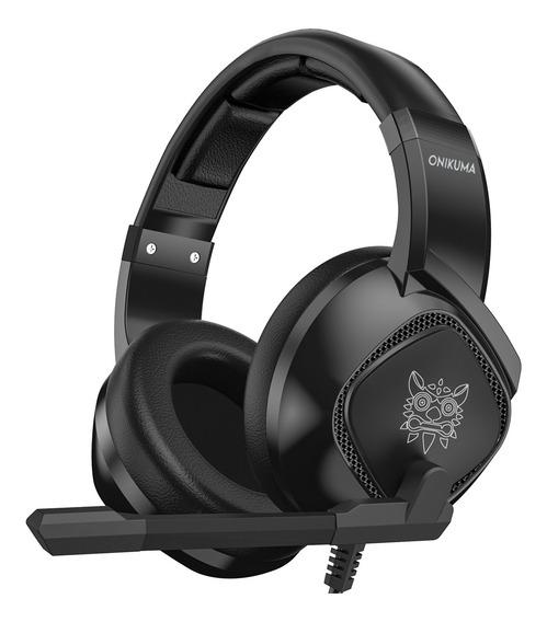 Onikuma K19 3.5mm Com Fio Gaming Headset Over Ear Fones De O