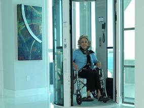 Ascensores Monofasicos Sin Cuarto De Maquinas,discapacitado