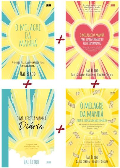 O Milagre Da Manhã - 4 Livros Da Coleção