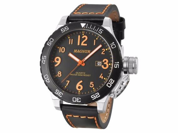 Relógio Masculino Magnum Military Ma33700j Original Novo