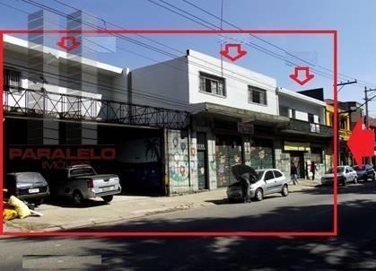 Salão Comercial Para Venda E Locação, Parque São Lucas, São Paulo. - Sl0189