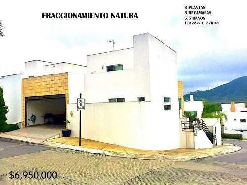 Casa En Venta En Fracc. Natura Al Sur De La Ciudad (aah)