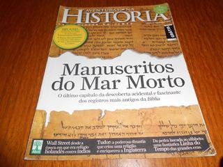 Revista Aventuras Na Historia: Manuscrito Do Mar Morto.