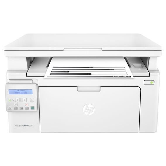 Impressora Multifuncional Hp Laserjet Mono G3q62a#696 M132nw