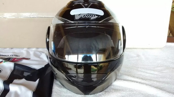 Capacete Robocop Helmets Pro Tork V Pro Jet Escamoteavel