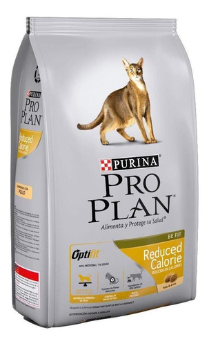 Imagen 1 de 1 de Alimento Pro Plan OptiFit Reduced Calorie para gato adulto sabor pollo/arroz en bolsa de 7.5kg