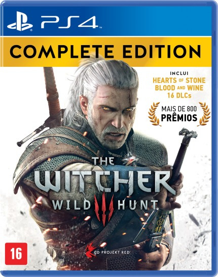 The Witcher 3 Complete Editon (mídia Física) - Ps4