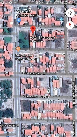 Terreno No Paracuru Beach Próximo A Avenida João Lopes Meire