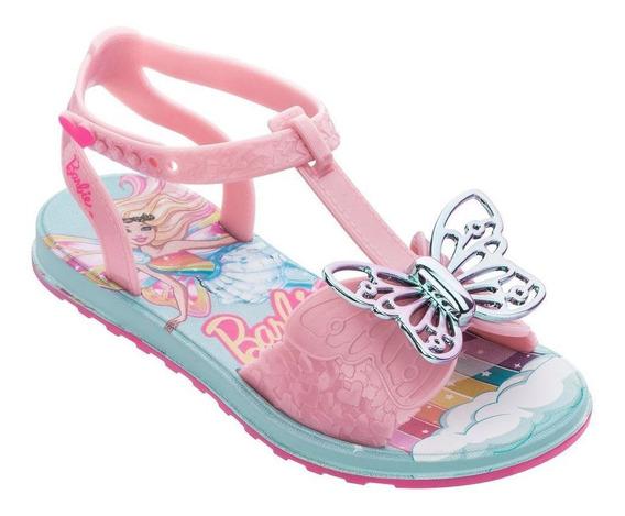 Sandalia Infantil Feminino Barbie Borboleta 22213