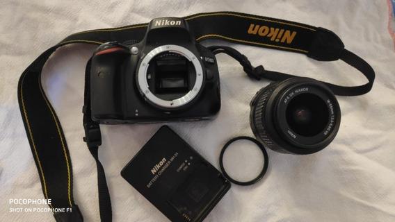 Câmera Nikon D5100 31728 Clicks Lente Objetiva Nikon 18-55mm