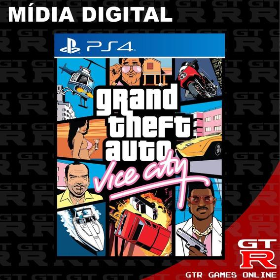 Gta Vice City Ps4 Grand Theft Auto Primaria Psn Vitalicia