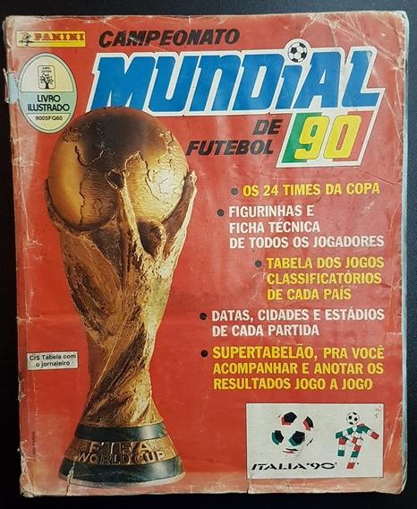 Album De Figurinhas Copa Do Mundo 1990 Panini Completo
